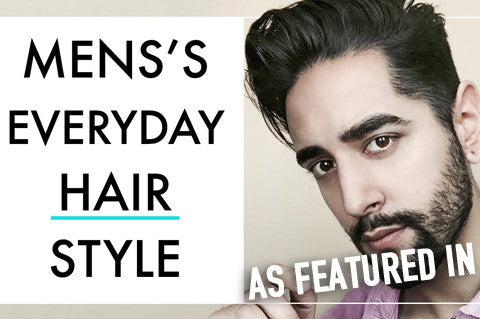 Men's Everyday Hairstyle 2017 - As Featured On James Welsh YouTube London Grooming Co Clay
