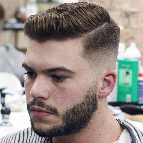 Side parting haircut by @nickbarford | Best Mens Haircuts 2017