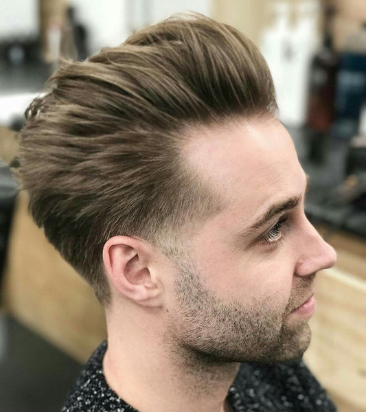 Textured taper medium length mens hairstyle by @liamthebarber | Best Haircuts For Men 2017