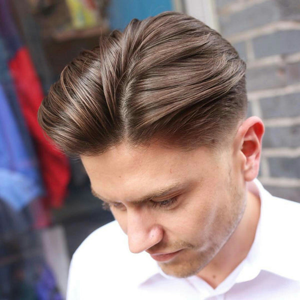 Loose textured taper medium length hairstyle by @rpb_nq | Best Mens Haircuts 2017