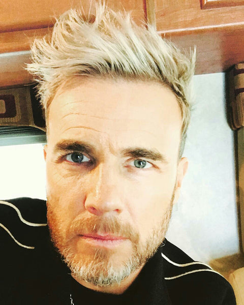 Gary Barlow New Blonde Haircut - How To Get The Hairstyle - Gary Barlow Hair