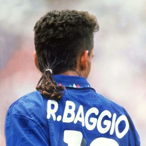 14 Of The Most Memorable World Cup Haircuts Of All Time | Baggio Hair World Cup 1994