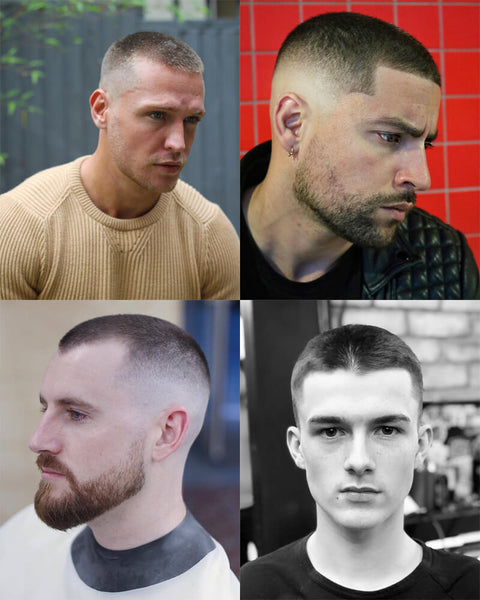 Buzz Cut Fade Haircut