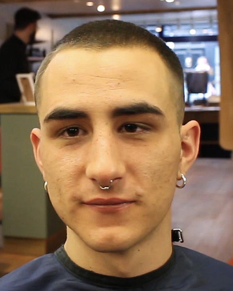 Buzz Cut Hairstyle Number 3 On Top With Skin Fade Video Regal