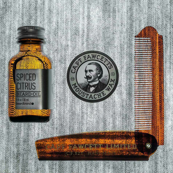 Captain Fawcett Beard Comb | The Best Beard Products For Men | Best Beard Oils, Balm, Comb & Shampoo