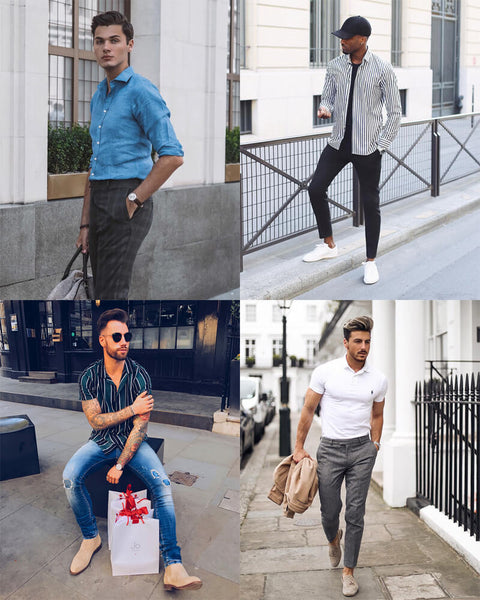 Casual Summer Evening Outfits For Men | The Best Men's Summer Outfits