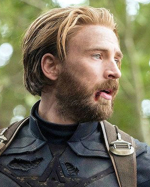 Chris Evans Captain America Infinity War Haircut | Chris Evans Haircut | Captain America Haircut