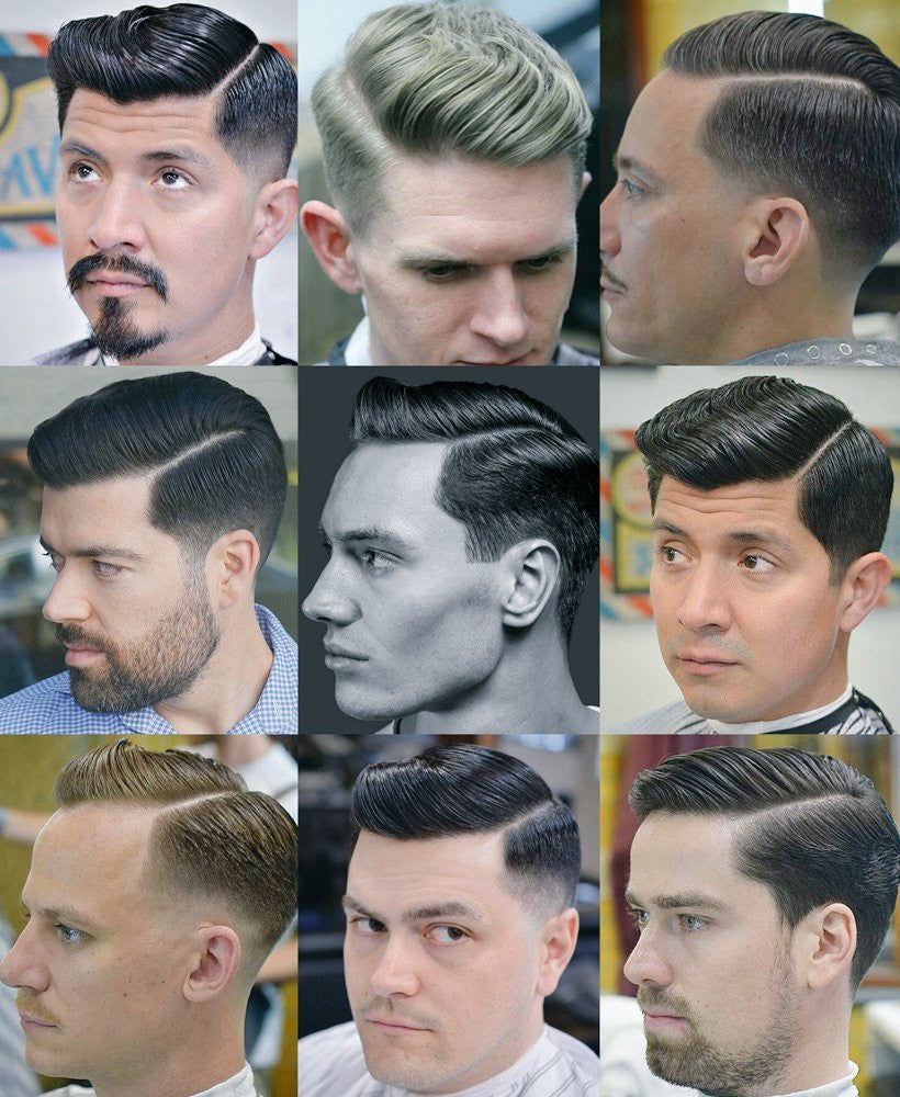 Mens Hairstyles With Side Partings Side Parting Haircut 1940s