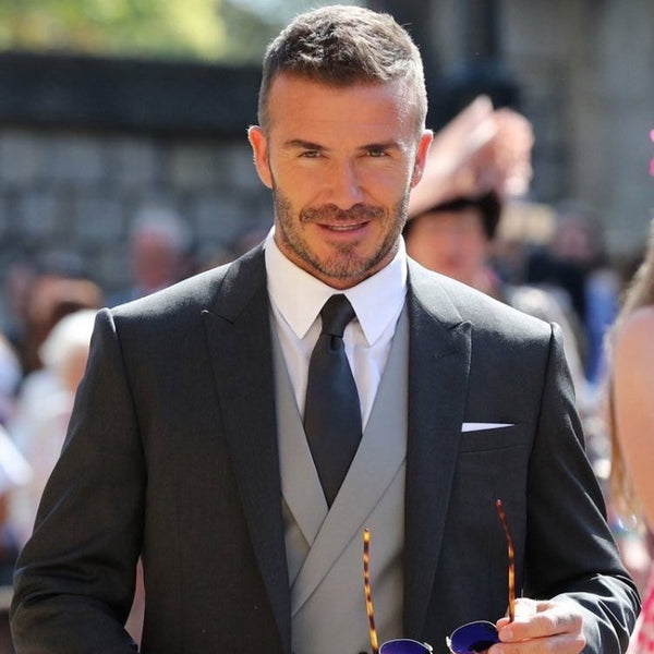 The Best Grooming Looks From The Royal Wedding | David Beckham Royal Wedding