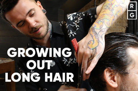 How To Grow Out Long Hair For Men | Growing Out Hair Men