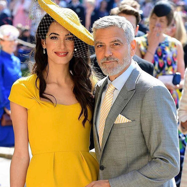The Best Grooming Looks From The Royal Wedding | George Clooney Beard