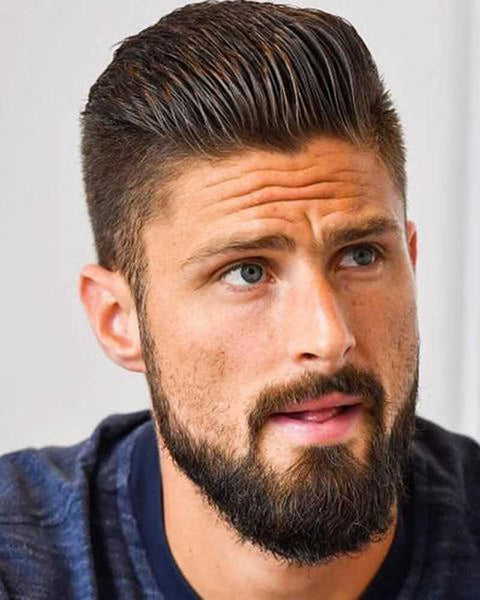 How To Get The Olivier Giroud Haircut - Giroud World Cup 2018 Hairstyle