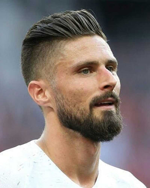 How To Get The Olivier Giroud Haircut World Cup 2018 Regal Gentleman