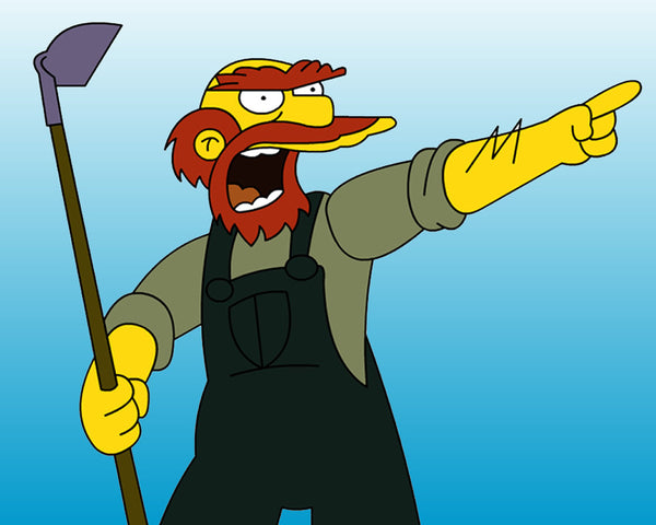 25 Best Halloween Costume Ideas For Men With Beards | Groundskeeper Willie
