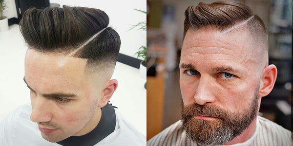 Hard Part Side Parting Haircut | Hairstyles For Men 2017 - Men's Hair Trends Short & Long