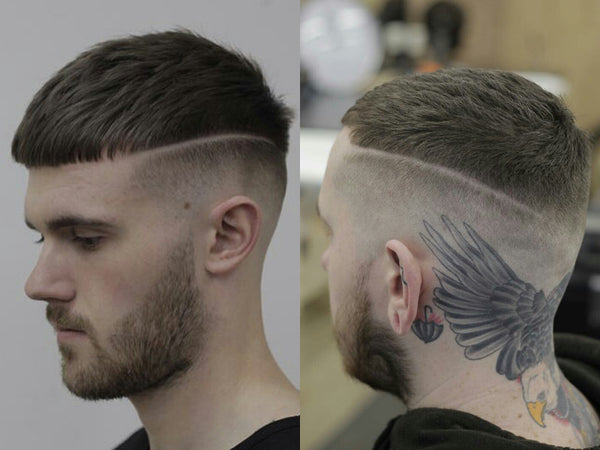 Hard part shaved crop | Short mens haircuts spring summer 2017 | Short Hairstyles For Men