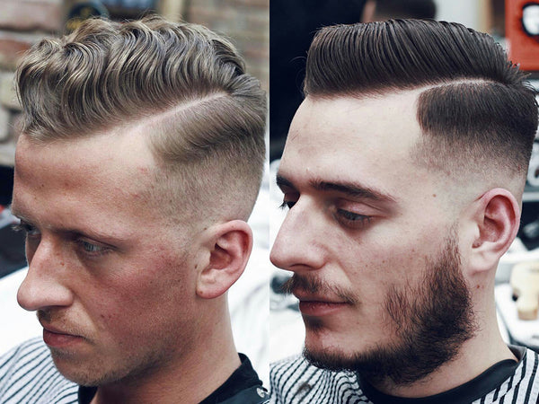 Hard part side parting | Short mens haircuts spring summer 2017 | Short Hairstyles For Men