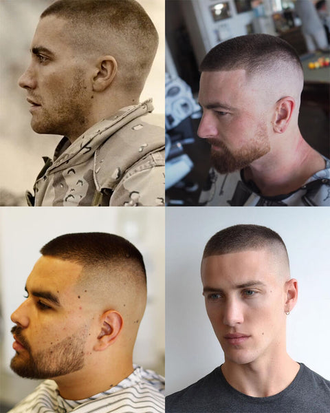 High And Tight Buzz Cut Haircut