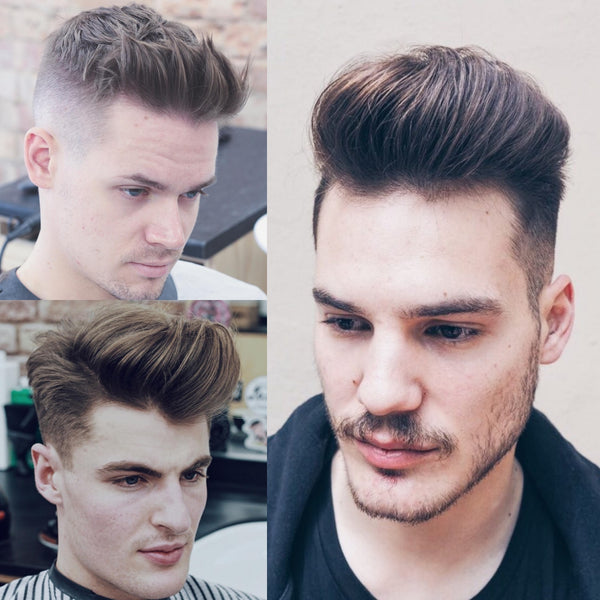 The Best Hairstyles For Men With Thick Hair | Quiff Haircut