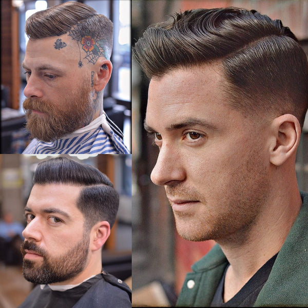 The Best Hairstyles For Men With Thick Hair | Side Parting Haircut