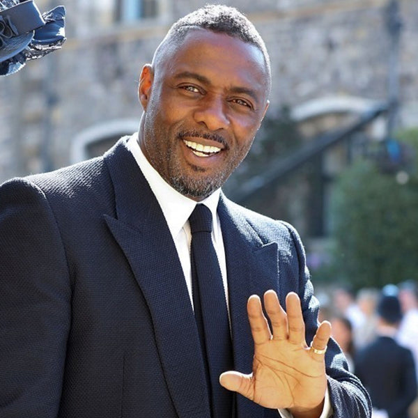 The Best Grooming Looks From The Royal Wedding | Idris Elba Royal Wedding