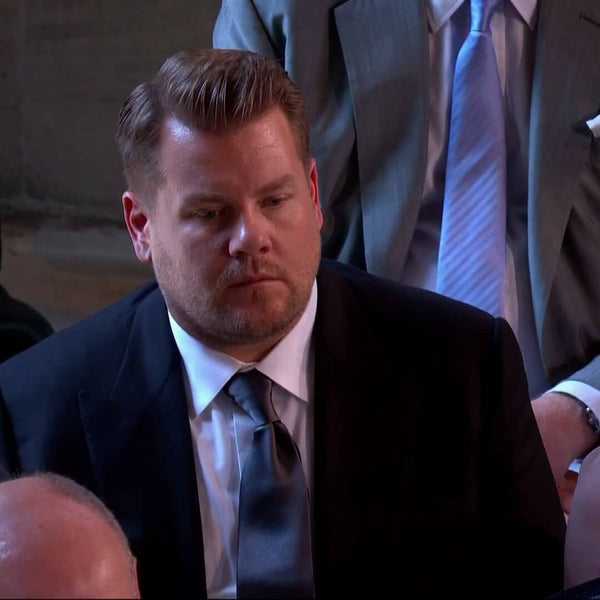The Best Grooming Looks From The Royal Wedding | James Corden Hair