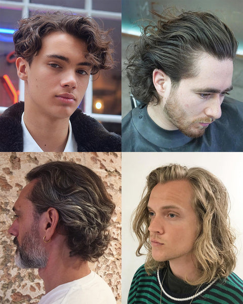 The 9 Biggest Men's Haircut Trends To Try For Summer 2018 | Long Wavy Haircuts For Men 2018