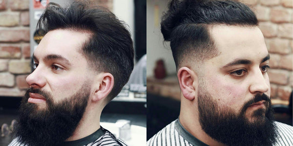 Long Length Beard With Fade Haircut | Beard Styles For Men In 2017 | Facial Hair, Beard, Stubble Trends 2017