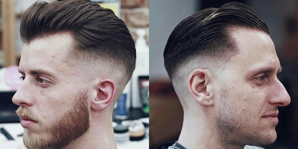 Longer Hair Fade Haircut | Hairstyles For Men 2017 - Men's Hair Trends Short & Long