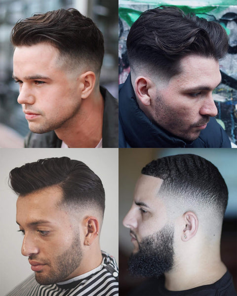 What Is A Fade Haircut? Mid Fade Haircut