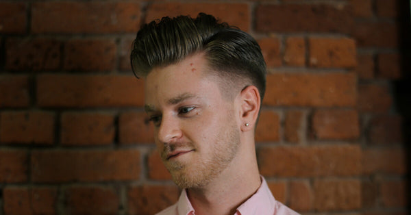Pompadour Fade Haircut