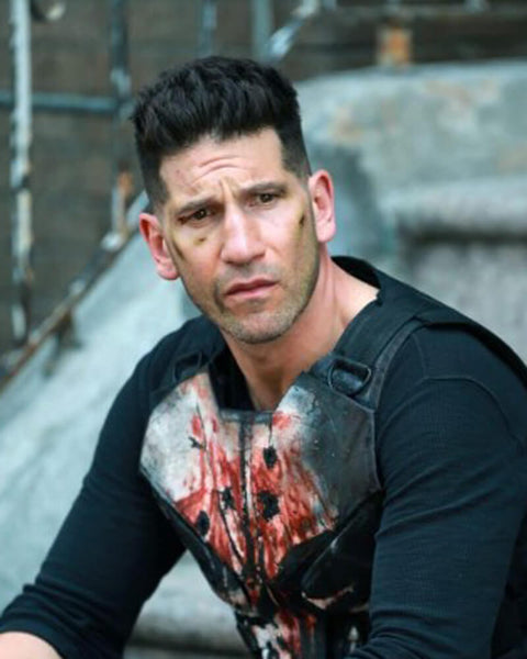 The Punisher Haircut Season 2 | Frank Castle Jon Bernthal Long Punisher Hairstyle 1