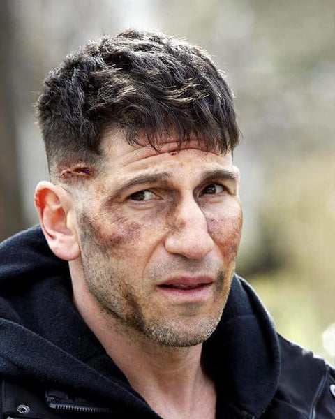 The Punisher Haircut | Frank Castle Jon Bernthal Long Punisher Hairstyle 5