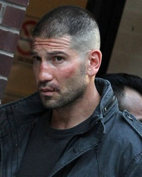 The Punisher Haircut | Frank Castle Jon Bernthal Long Punisher Hairstyle 4