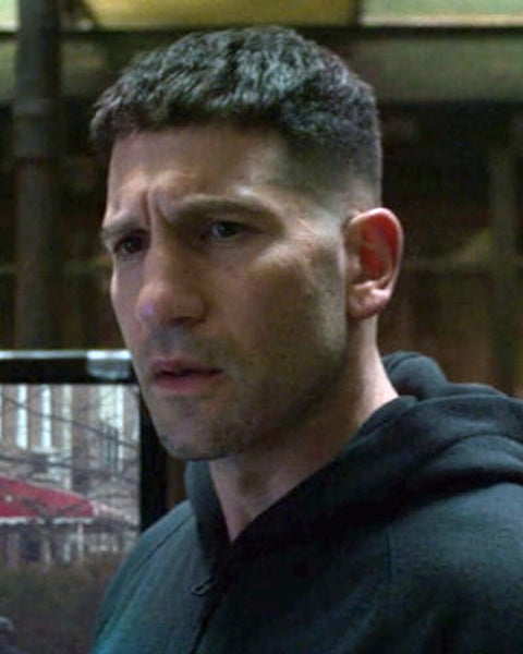 The Punisher Haircut | Frank Castle Jon Bernthal Long Punisher Hairstyle 6