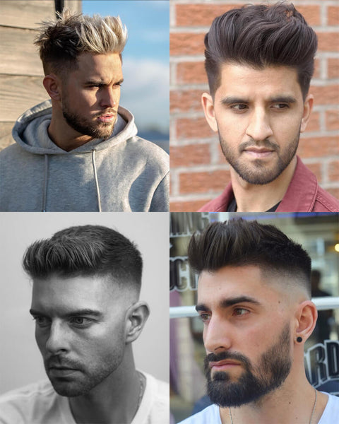 Quiff Fade Haircut