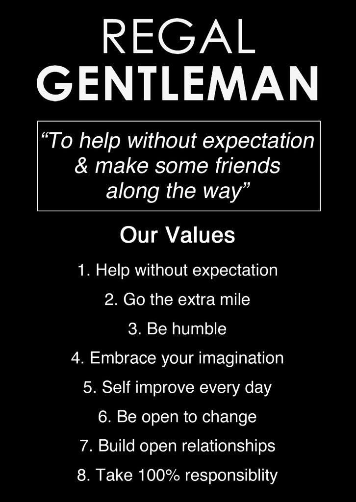 Values Regal Gentleman