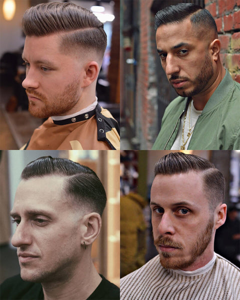Side Parting Fade Haircut