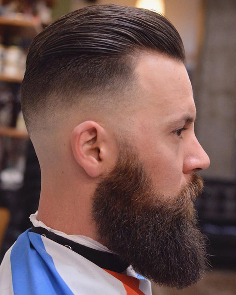 Slick Back Undercut Haircut