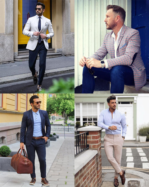 Summer Smart Work Outfits For Men | The Best Men's Summer Outfits