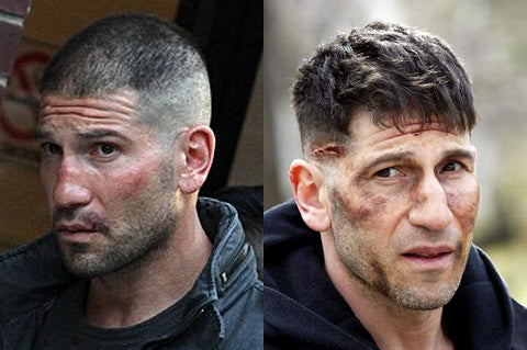 The Punisher Haircut | Frank Castle Jon Bernthal Long Punisher Hairstyle