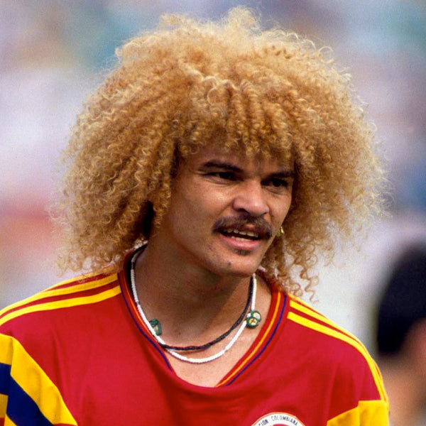 14 Of The Most Memorable World Cup Haircuts Of All Time | Valderrama Hair World Cup 1990