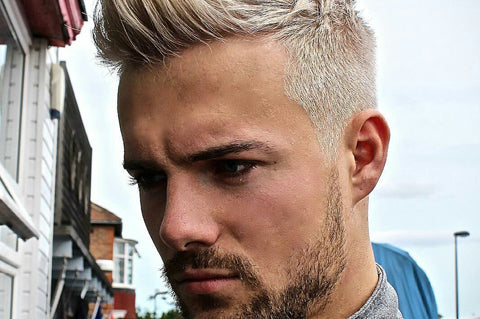 Dying hair blonde | Blonde hair men | Messi blonde hair | Ramsey blonde hair | How to dye hair blonde men | Tips dying hair blonde men