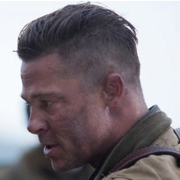 Brad Pitt Haircut In Fury What Is It How To Get The