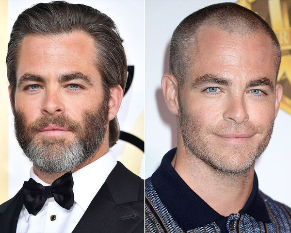 Chris Pine Haircut | Best Celebrity Men's Hairstyles 2017