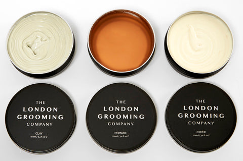 The London Grooming Company Men's Hair Styling Products | Clay, Pomade, Creme