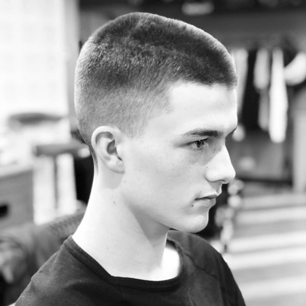 Buzz Cut Men's Haircut Transformation - VIDEO
