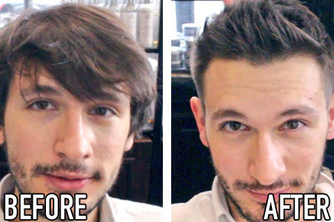 Men's Hair Transformation | Long to short hair | Murdock London