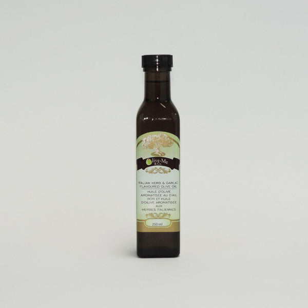 ITALIAN HERB & GARLIC OLIVE OIL  250ML