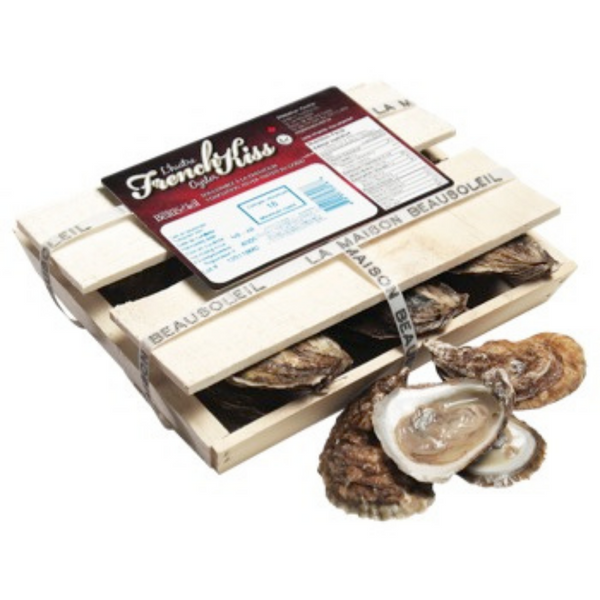 French Kiss Oysters-Case of 18 (special order)